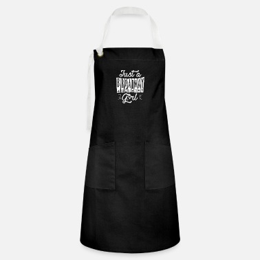 Just Just a Broadway Girl - Artisan Apron