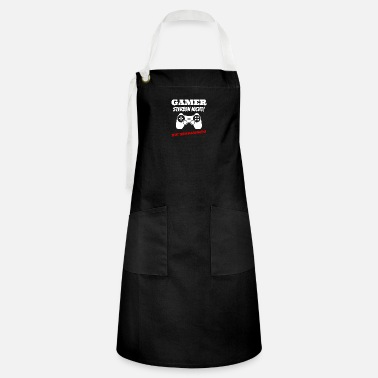 Evening Gamers Die Not You Respawn Gift - Artisan Apron