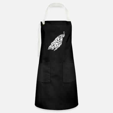 Boy male peacock - Artisan Apron
