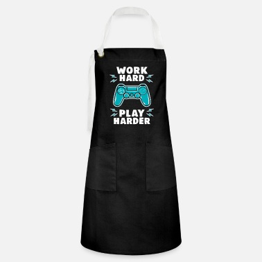 Console Work hard play - Artisan Apron