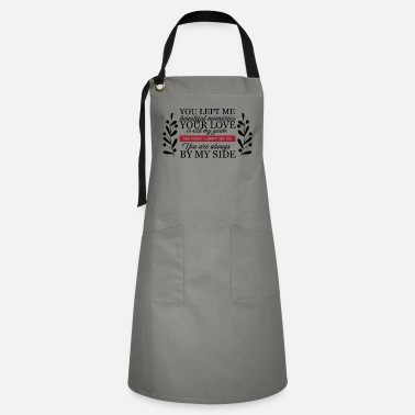 Us State You Left Me Beautiful Memories - Artisan Apron