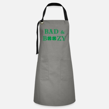 Girlie Funny St Patricks Day Gifts - Artisan Apron