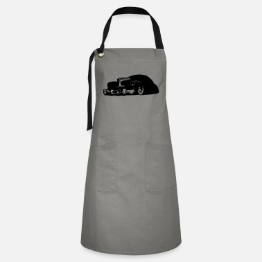 Hot Rod Car hot rod car - Artisan Apron