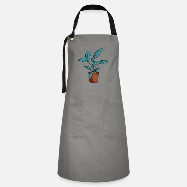 Cute Potted Plant - Artisan Apron