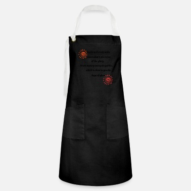 World Trade Centre Jo,who god would make - Artisan Apron