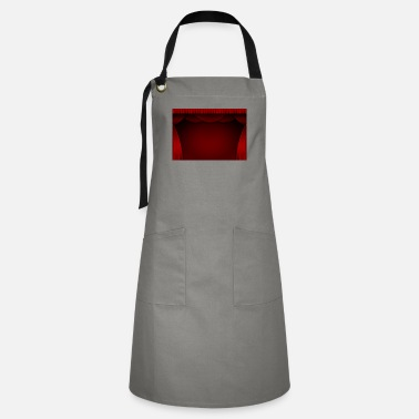 Curtain Red curtain background - Artisan Apron