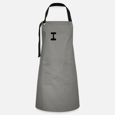 Letter-sign the letter I - Artisan Apron