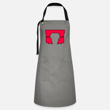 Curtain Red Curtain - Artisan Apron