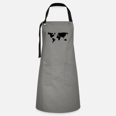Geographic geographic - Artisan Apron