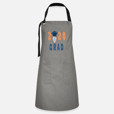 Student 2020 grad graduated during quarantine - Artisan Apron