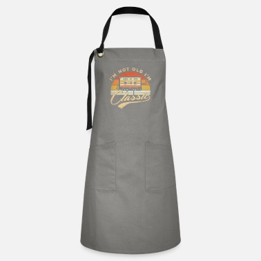 Born In 1970 50th birthday gifts men & women 1970 gift 50 years - Artisan Apron