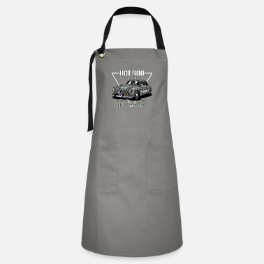 Hot Rod Car Vintage Custom HOT ROD Car - Artisan Apron