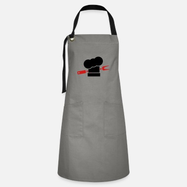 Smutje Barbecue cooking hats fork - Artisan Apron