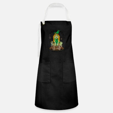 Trick Or Treat Hello Halloween - Artisan Apron