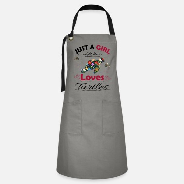 Ok Just A Girl Who Loves Turtles - Artisan Apron