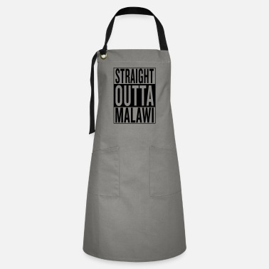 Home Town Land Country State Malawi - Artisan Apron