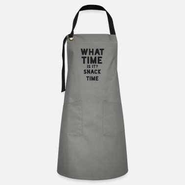 Snack What Time Is It Shirt - Snack Time Gift - Artisan Apron