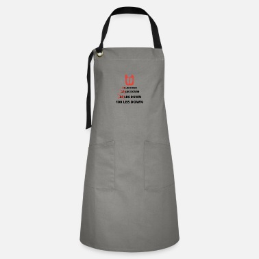 Funny Weight Loss, 100 Lbs Down, Lose Weight Worko - Artisan Apron