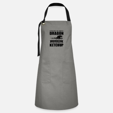 Dragons Lair Funny Meddle Not In The Affairs Of Dragons - Artisan Apron