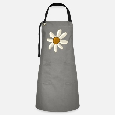 Easter Egg Egg Hunt White Flower - Artisan Apron