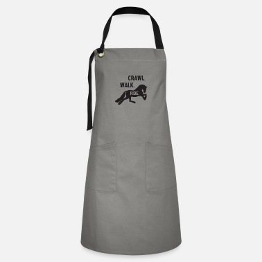 Crawl Snake crawl walk ride - Artisan Apron