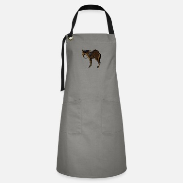 Saddle The Horse With A Saddle - Artisan Apron