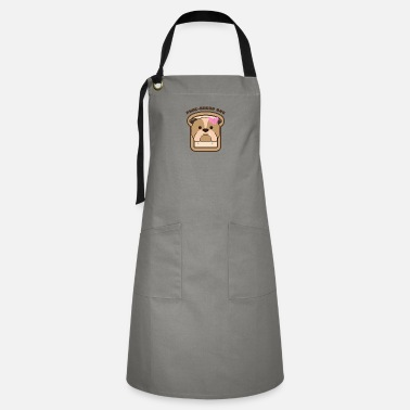 Purebred Dog PureBread Purebred Dog Pun Funny Dog Owner and - Artisan Apron