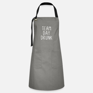 Shot Team Day Drunk - Artisan Apron
