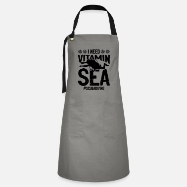 Association Diving diver vitamin - Artisan Apron