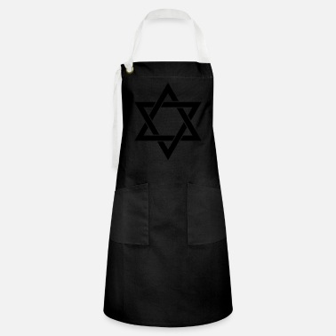 Israel Star of David Judaism Isr - Artisan Apron