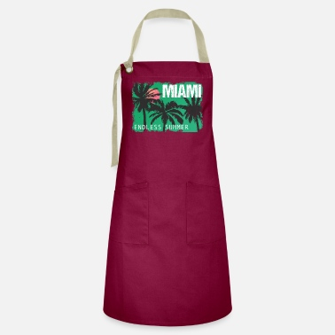 Modern Miami Endless Summer - Artisan Apron