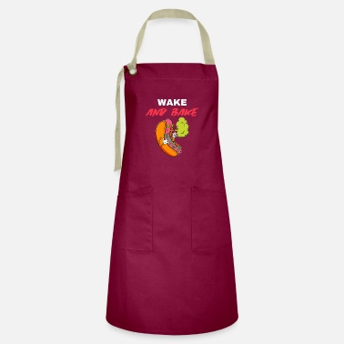 Graffiti WT Wake and bake - Artisan Apron