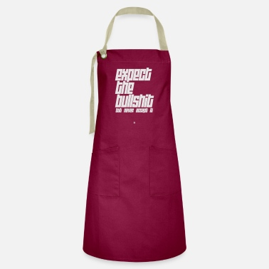Expect The Bullshit - Artisan Apron