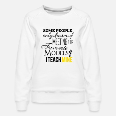 Model Models - Women's Premium Sweatshirt