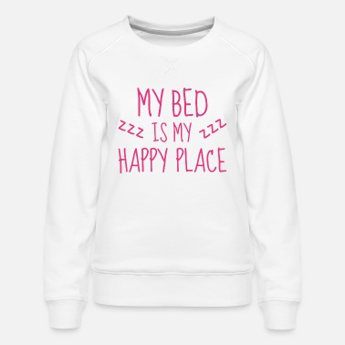 Happiness Happy Place - Women's Premium Sweatshirt
