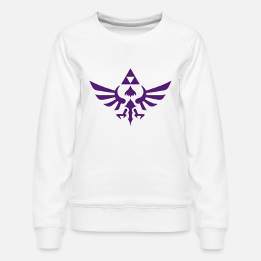 Triforce Crest - Women's Premium Sweatshirt