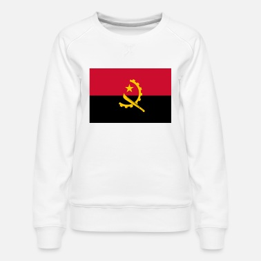 Coat Of Arms Flag of Angola - Women's Premium Sweatshirt