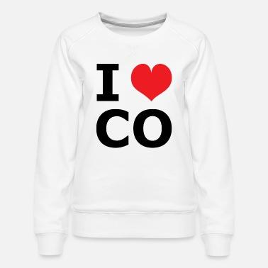 I Love Heart Colorado Sweatshirt