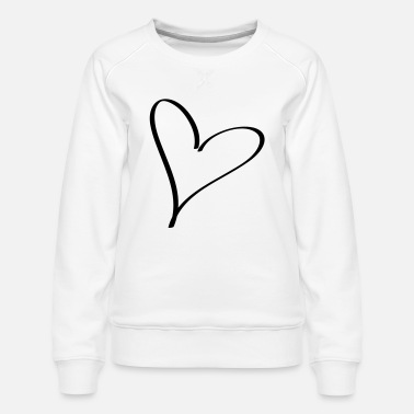 Serce heart - Women's Premium Sweatshirt