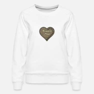 I Love Amp - Women's Premium Sweatshirt