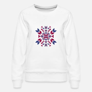 Tradition Traditional embroidery - Women's Premium Sweatshirt