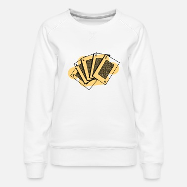Pik card game - Women's Premium Sweatshirt
