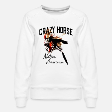 Indian western cowboy gift wild west - Women's Premium Sweatshirt