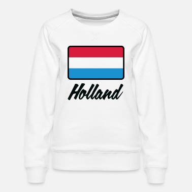 Holland Flag Holland (DD) - Women's Premium Sweatshirt