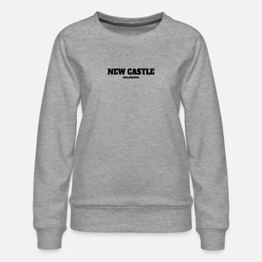 Castle DELAWARE NEW CASTLE US EDITION - Women's Premium Sweatshirt