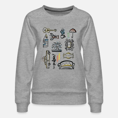 Icons Friends Icons - Women's Premium Sweatshirt