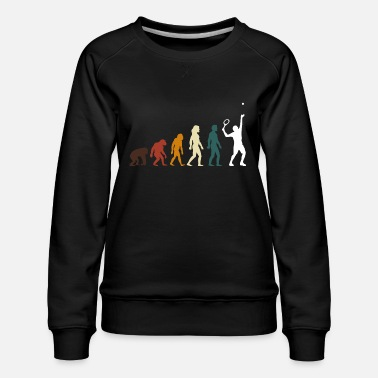 Gift for Tennis player Retro T-Shirt - Women's Premium Sweatshirt