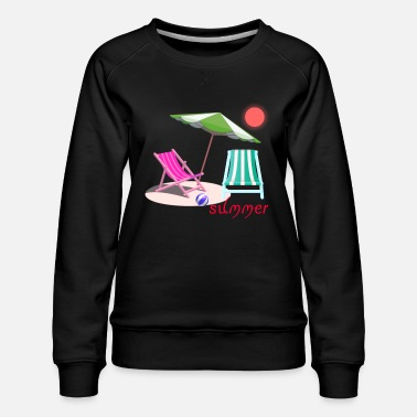 Creative Summer Party - Women's Premium Sweatshirt