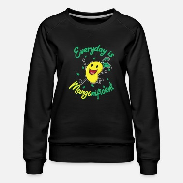 Healing Mangonificent Food And Mango Lover Gift - Women's Premium Sweatshirt