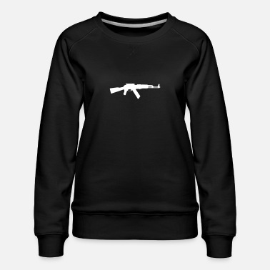 Derringers AK-47 Assault Rifle - Women's Premium Sweatshirt